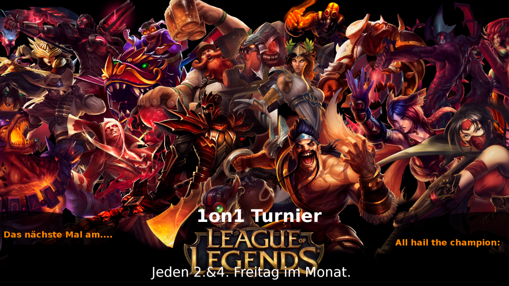 League of Legends 1on1 Turnier @ Interface Bar | Berlin | Berlin | Deutschland