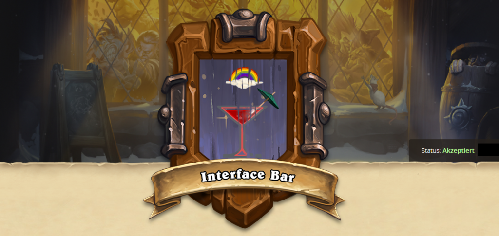 Hearthstone Tavern Sign