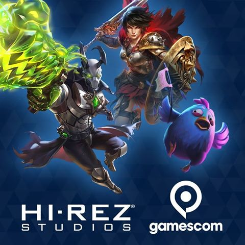 hi-rez road to gamescom